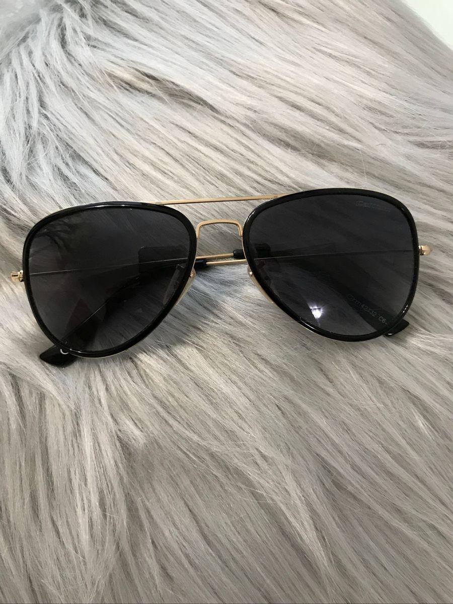 a96171e36 óculos de sol carmim original como novo aviador preto clássico - óculos  carmim