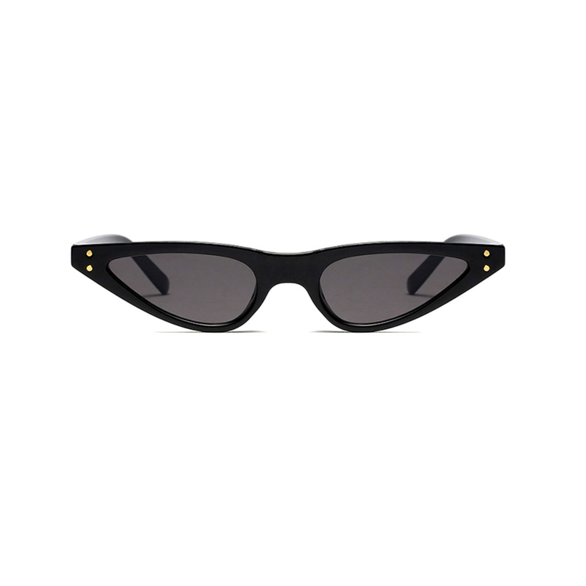 óculos gatinho skinny / vintage 90s micro triangular cat eye - óculos sem marca