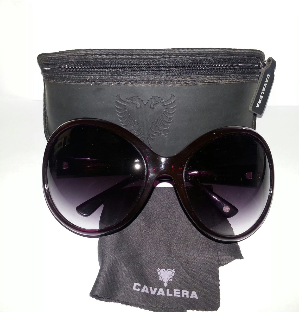 933898cb3 Oculos de Sol Cavalera Feminino - Original Roxo | Óculos Feminino ...