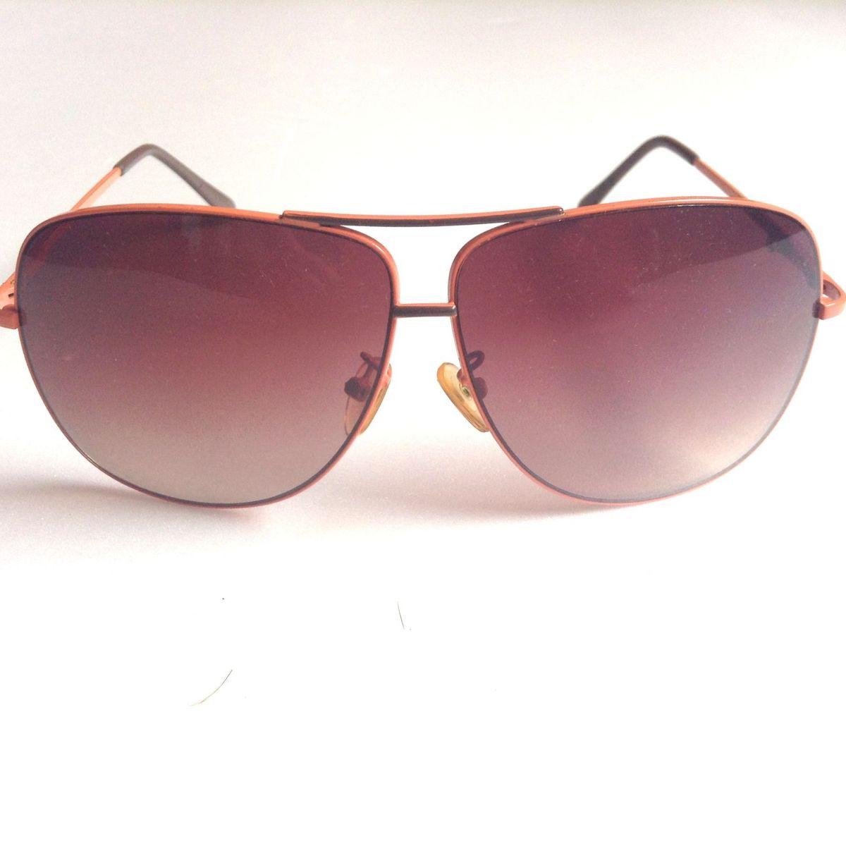 5b90f30ba Oculos de Sol Chilli Beans Aviador Laranja | Óculos Feminino Chilli Beans  Usado 31741734 | enjoei