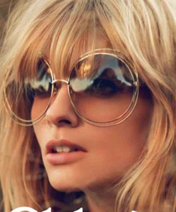 Óculos de Sol Chloé Carlina Peach   Óculos Feminino ChloÉ Nunca Usado  13820139   enjoei 0147355cc5