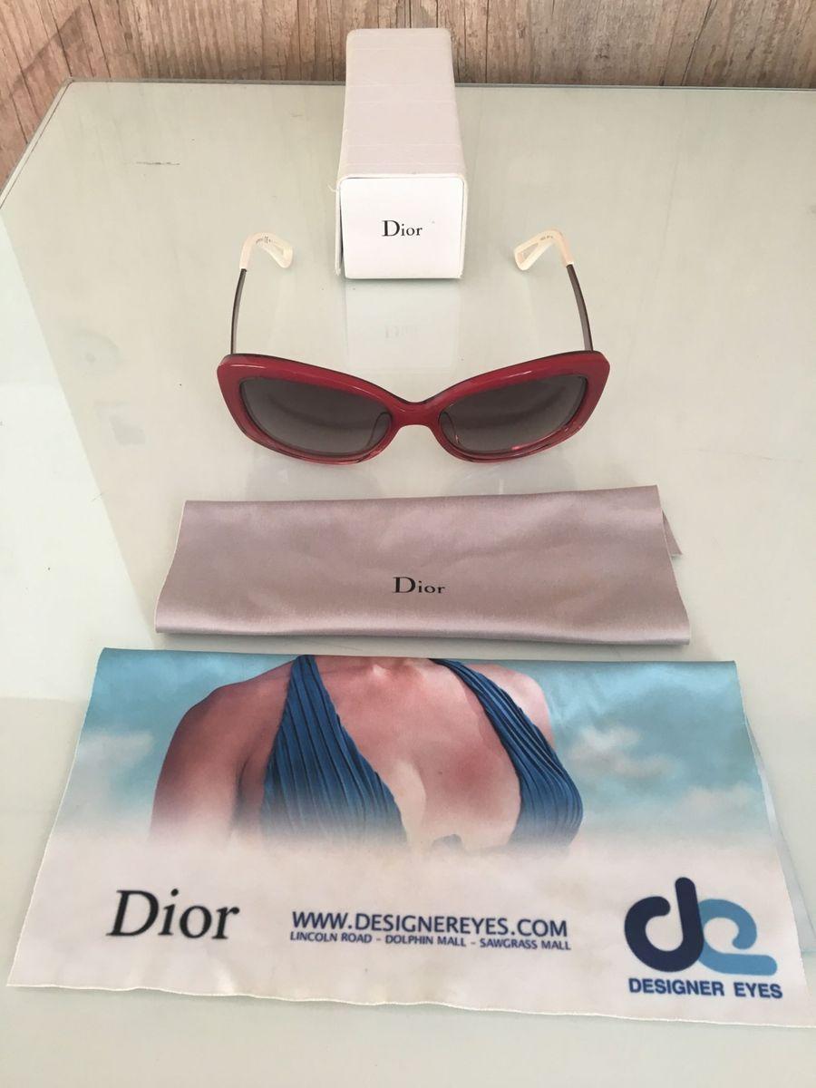 Óculos de Sol Christian Dior Original   Óculos Feminino Dior Usado ... a9596cdaa3
