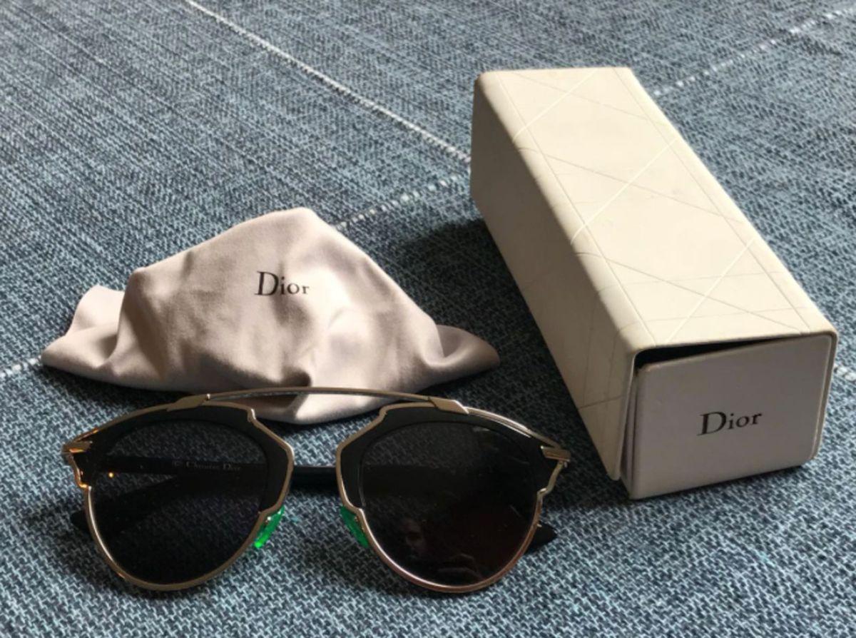 640c8eb3151f3 óculos de sol christian dior so real b1ay1 48 preto - óculos christian dior