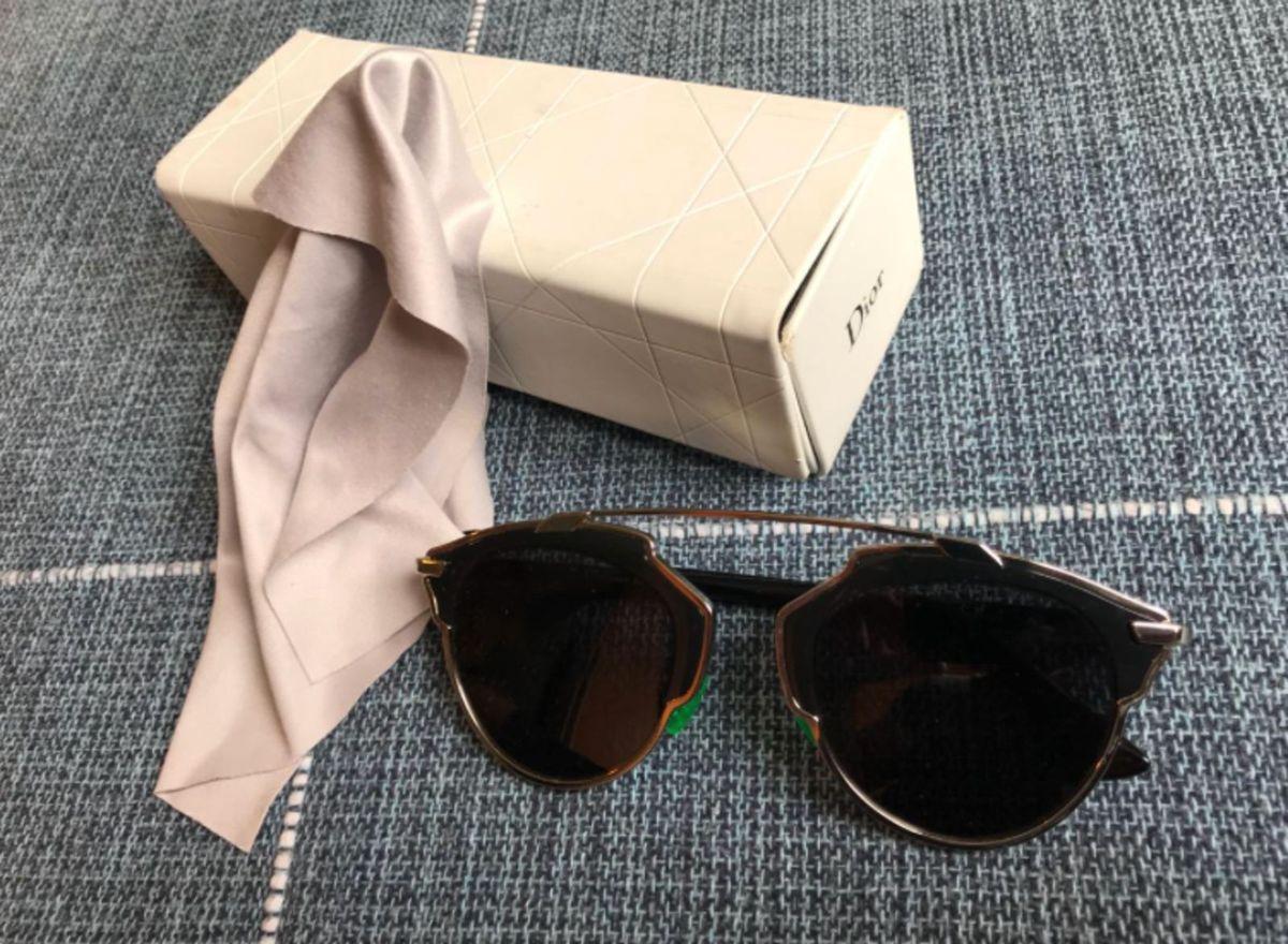6c982ef0d41 Óculos de Sol Christian Dior So Real B1ay1 48 Preto