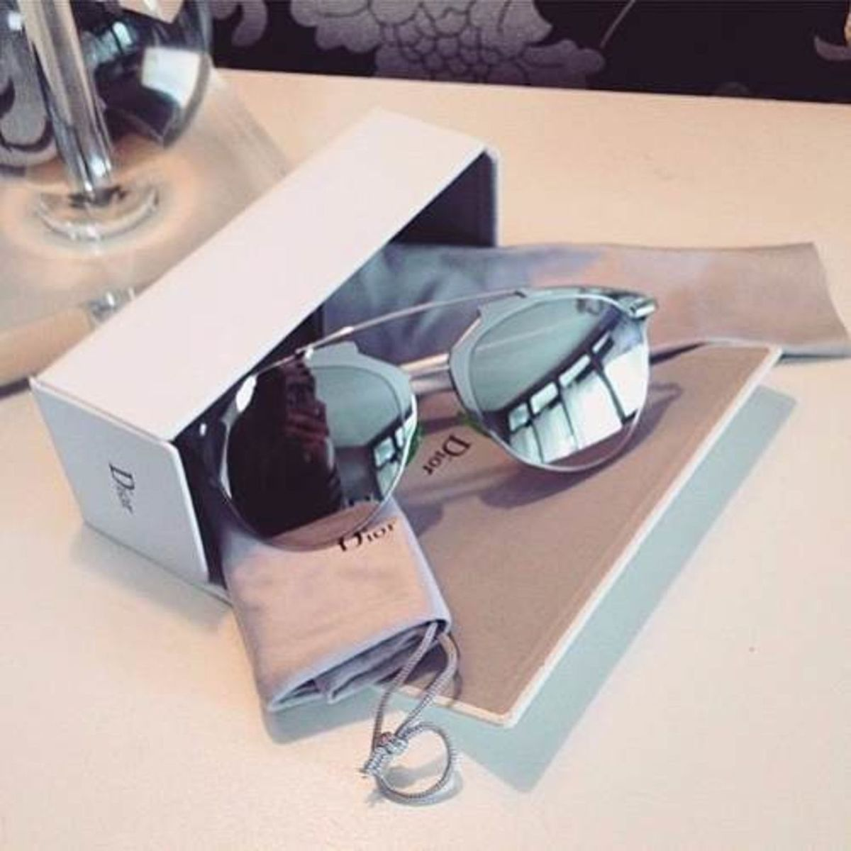 oculos de sol cristhian dior reflected original completo - óculos dior 556c9da016