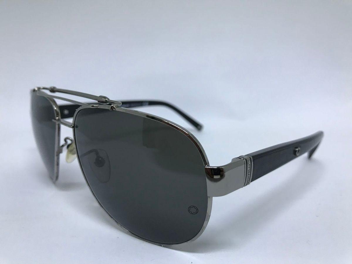 Oculos de Sol da Marca Mont Blanc Estilo Caçador   Óculos Masculino Mont  Blanc Nunca Usado 23121464   enjoei 0ff968d19d