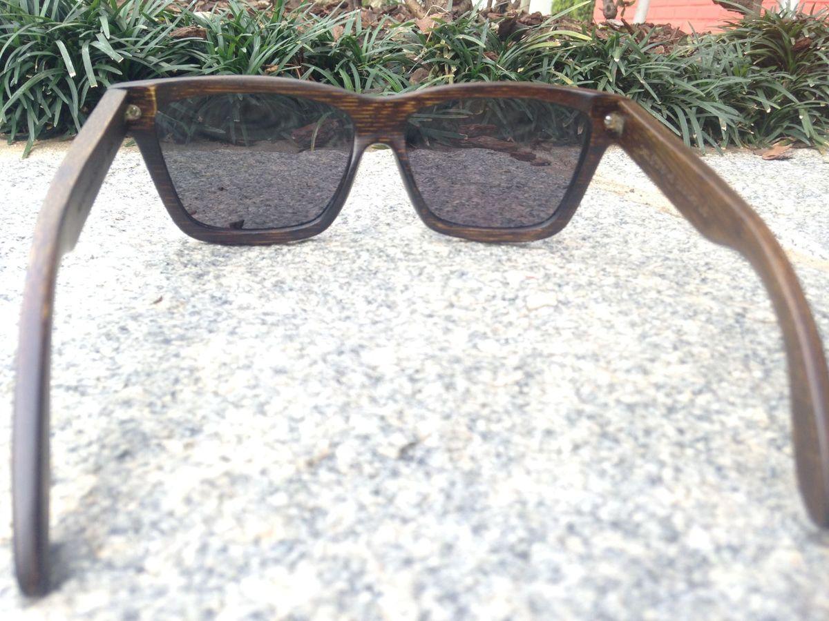 941057f0f0f18 Oculos de Sol de Madeira - Island Brothers   Óculos Masculino Island  Brothers Nunca Usado 14272684   enjoei