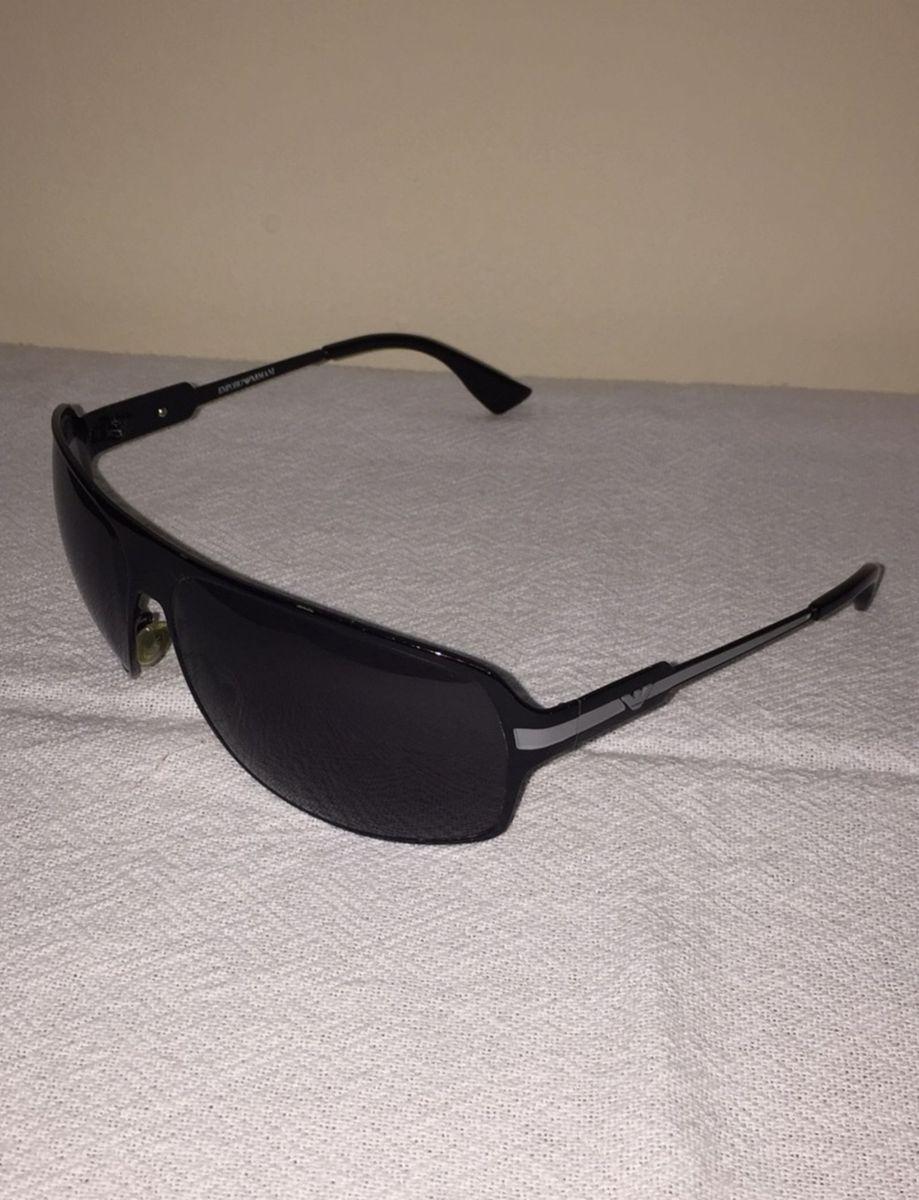 011e2b71b Óculos de Sol Emporio Armani | Óculos Masculino Emporio Armani Usado ...