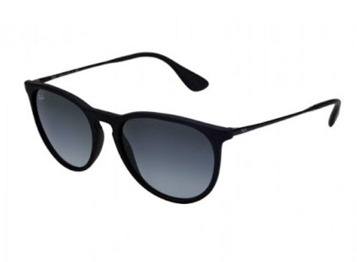 fe6dd3bdd Óculos de Sol Erika Adulto Rayban Preto Fosco Top   Óculos Feminino ...