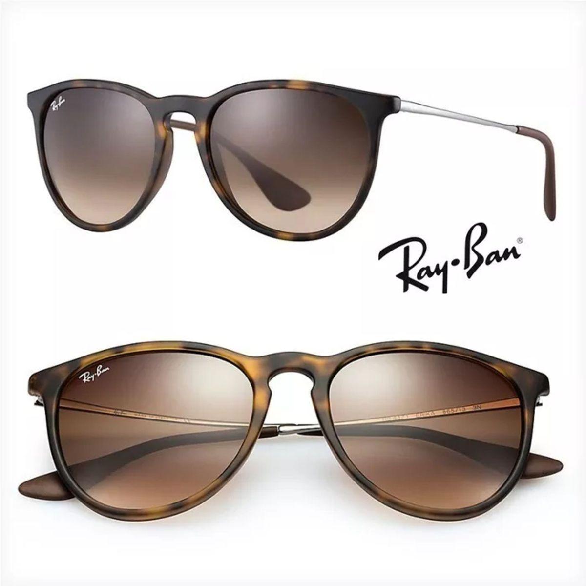 Óculos de Sol Erika Rb4171 - Polarizado - Tartarug   Óculos Feminino ... 80443fafb7