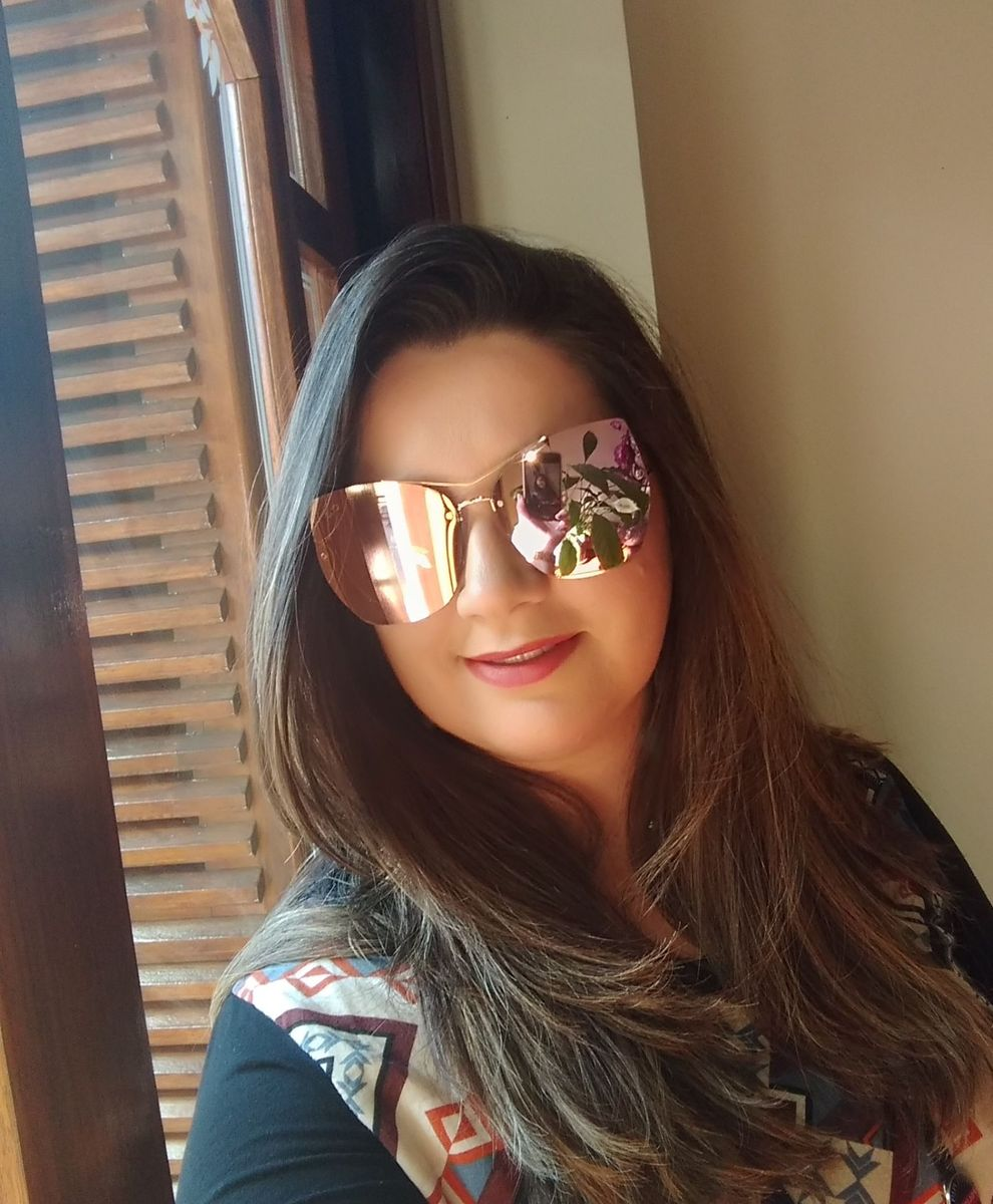 206ecb88d Óculos de Sol Espelhado Rose | Óculos Feminino Infinity Gold Nunca ...