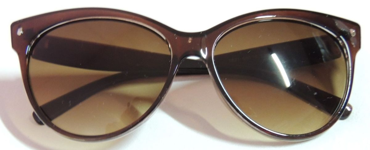56ab230d9 Oculos de Sol Estilo Gatinho Marrom | Óculos Feminino Acacia Nunca ...