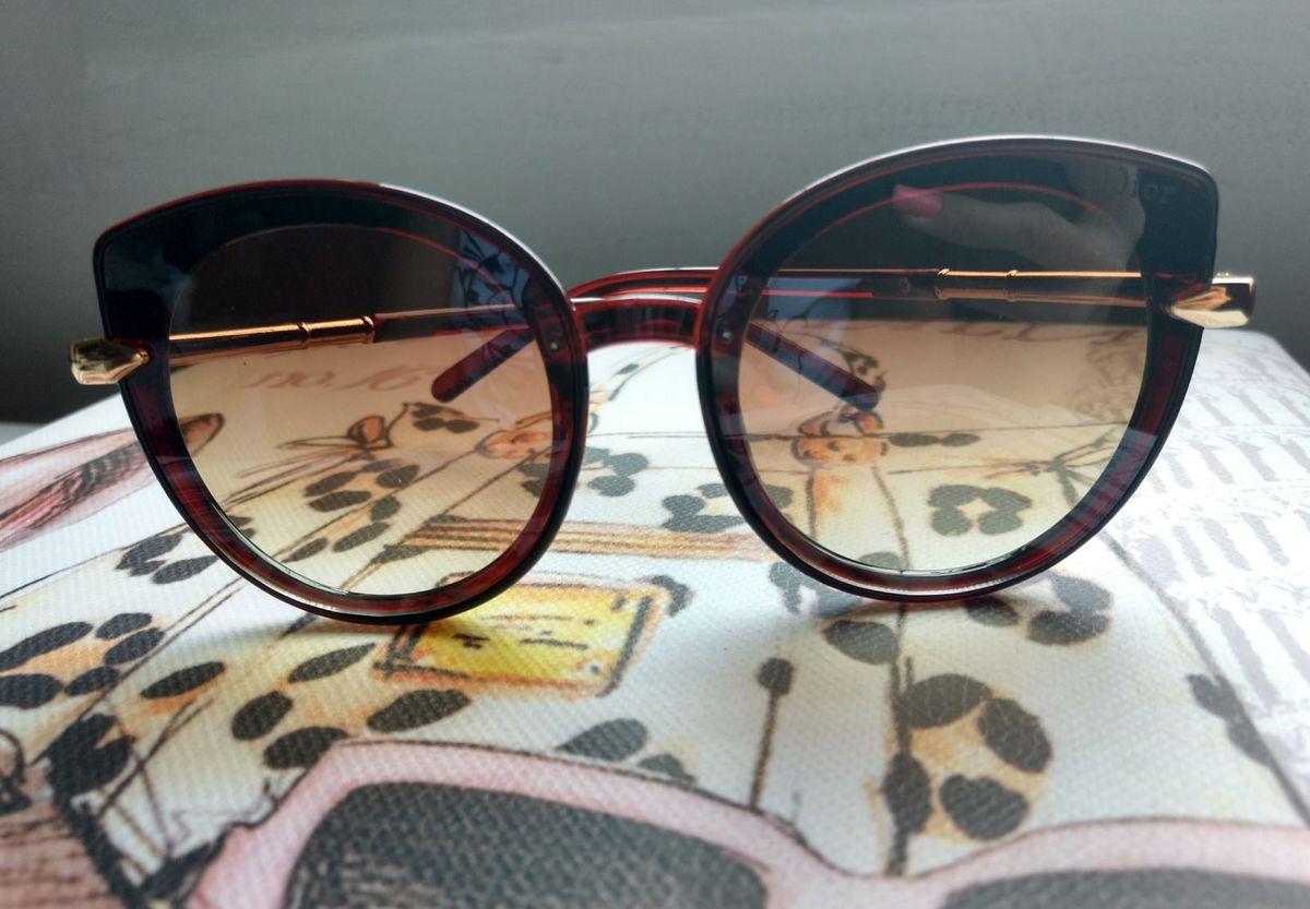 c50a7c5b8 Óculos de Sol Estilo Gatinho Semi Espelhado Dior | Óculos Feminino ...