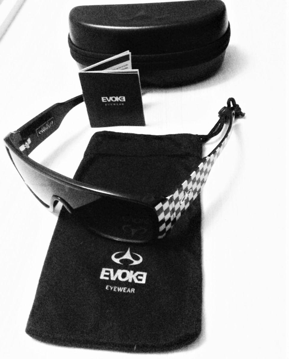 óculos de sol - evoke amplifier black square gray degrade - óculos evoke 30024e9eab