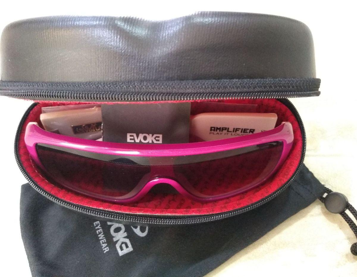 eac9e29bf óculos de sol evoke amplifier fpk01 rosa (novo sem uso) - óculos evoke