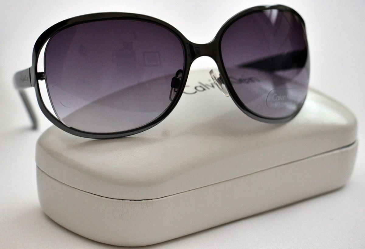 Óculos de Sol Feminino Calvin Klein Ck Preto   Óculos Feminino ... 5845416104