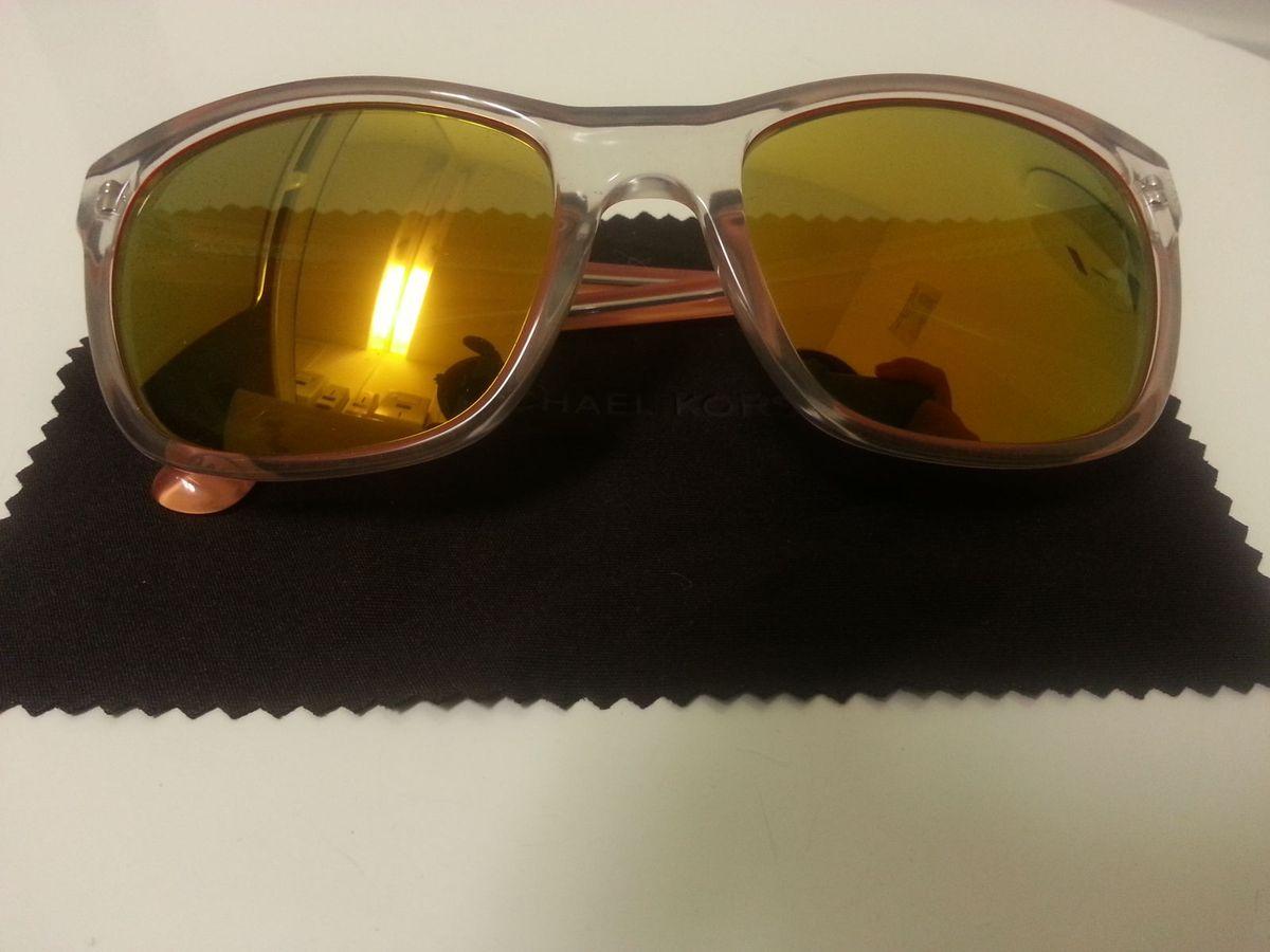 óculos de sol feminino michael kors original e novo - óculos michael kors 7a8705cd99