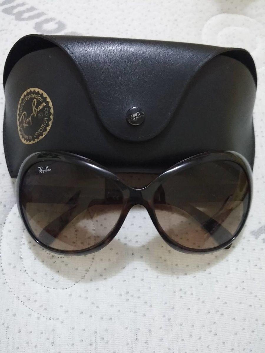 2e1628ed392ad óculos de sol feminino retrô ray ban rb4127 - óculos rayban