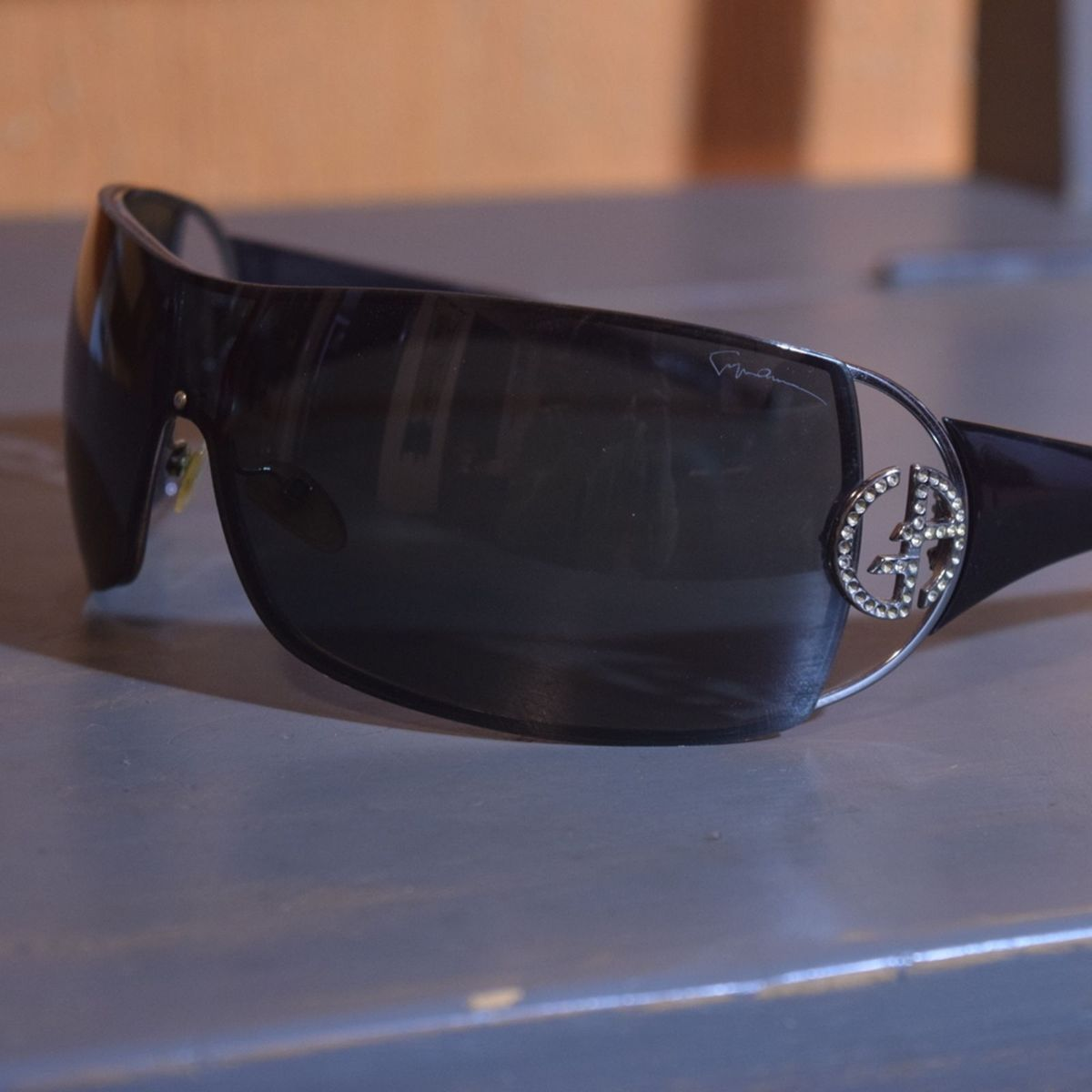 44643a17c Óculos de Sol Giorgio Armani | Óculos Feminino Giorgio Armani Usado ...