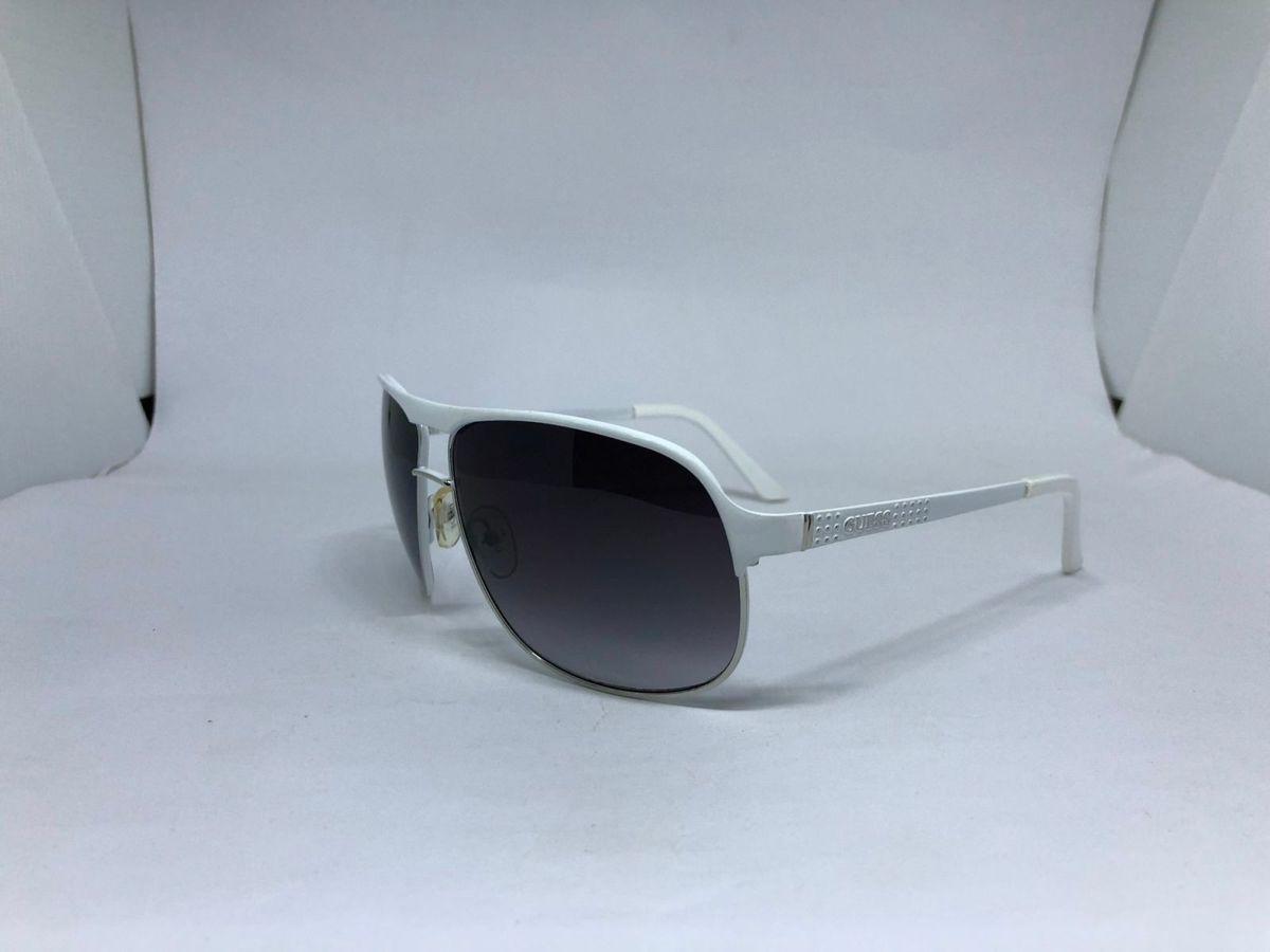 Oculos de Sol Guess Armacao Branca   Óculos Feminino Guess Nunca Usado  29158651   enjoei 2b44a32434