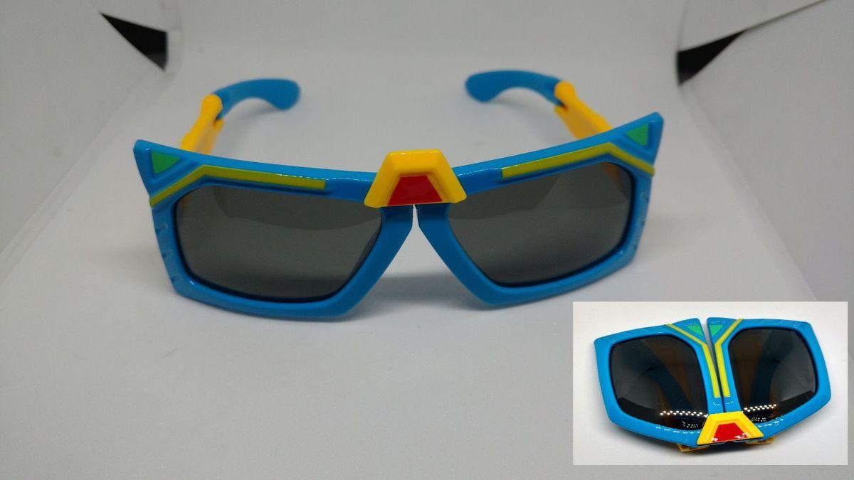 610c172cf óculos de sol infantil transformes dobravel menino polarizado proteção uv  azul - óculos case