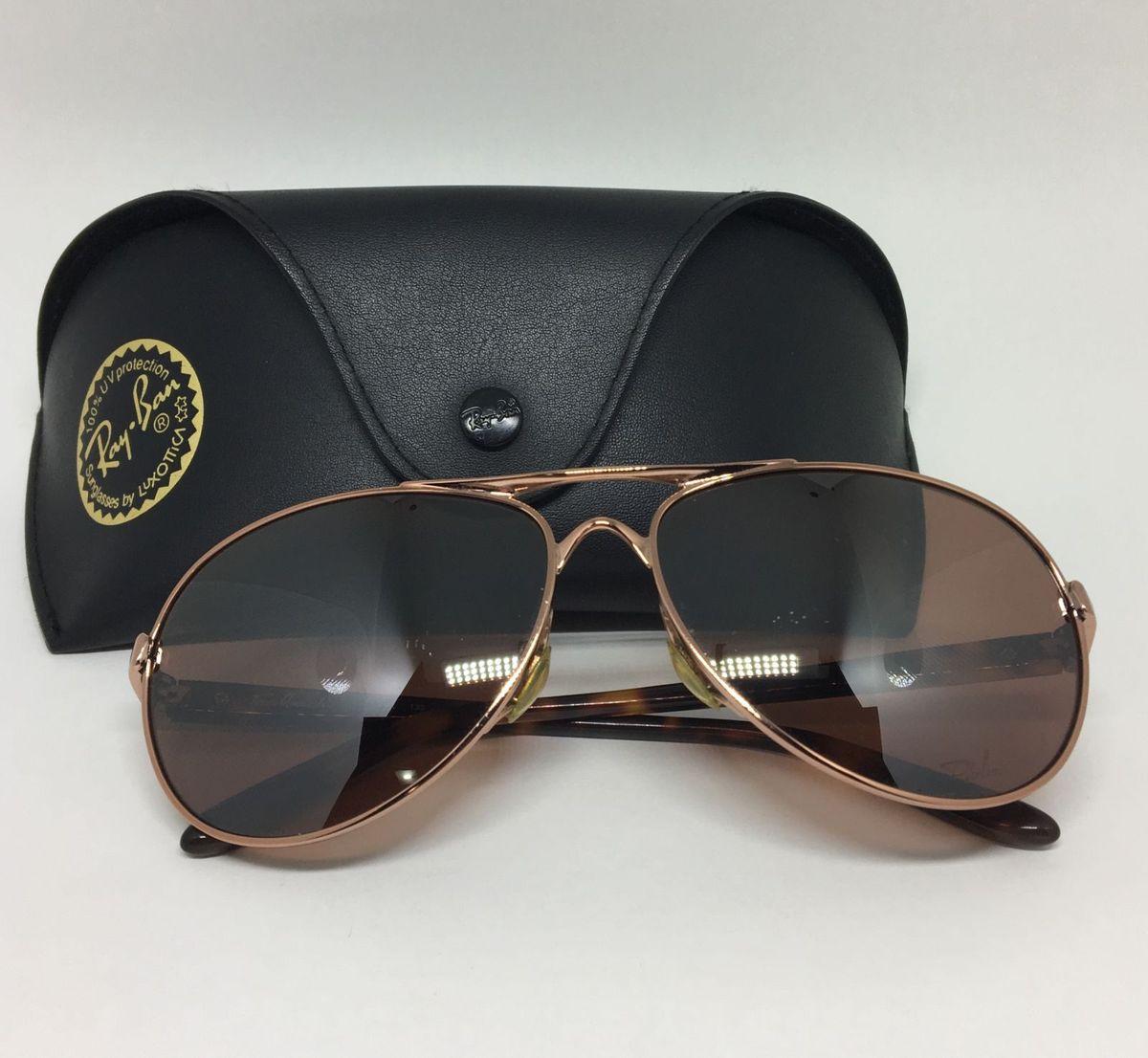 bf5523589da39 óculos de sol lentes polarizadas rayban - óculos ray-ban