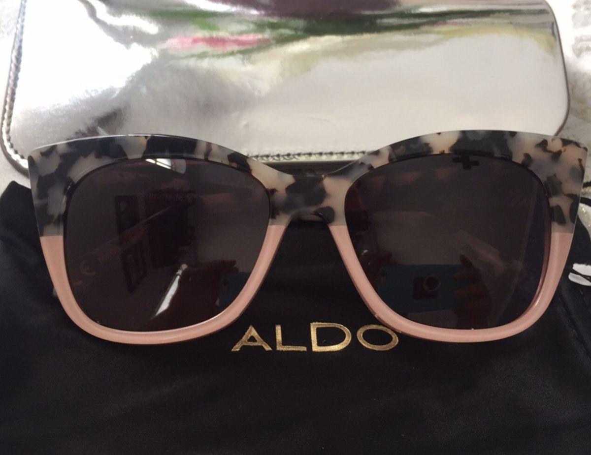 e038e63c86a74 óculos de sol marca aldo importado rosa - óculos aldo