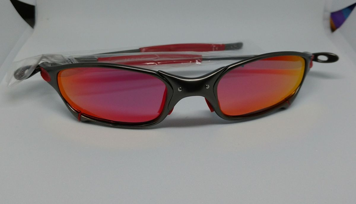 Óculos de Sol Masculino Oakley Juliet   Óculos Masculino Oakley ... 9d1499ecc6