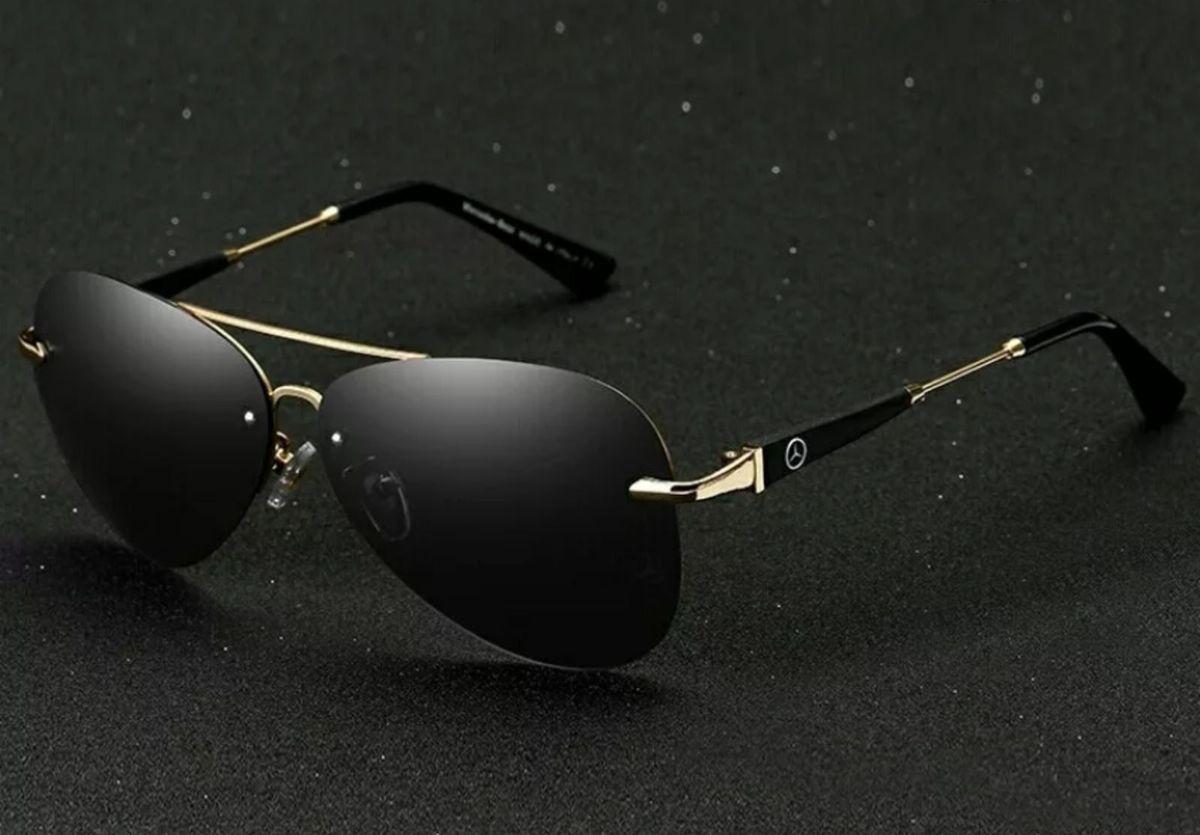 67aca7a112d30 Óculos de Sol Mercedes Benz Lentes Polarizadas Uv400   Óculos Feminino  Nunca Usado 30105374   enjoei