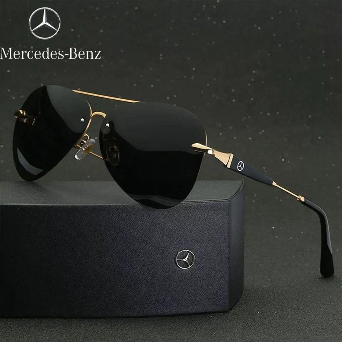 óculos de sol mercedes benz lentes polarizadas uv400 - óculos sem marca 4053e377d5