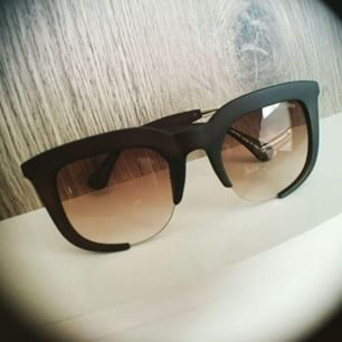 Óculos de Sol Miu Miu Rasoir Marrom Degrade   Óculos Feminino Miu ... f8d3dff002