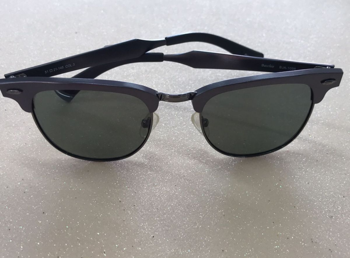 Óculos de Sol Moderno   Óculos Feminino Bacchio Nunca Usado 27821403    enjoei 7739c82342