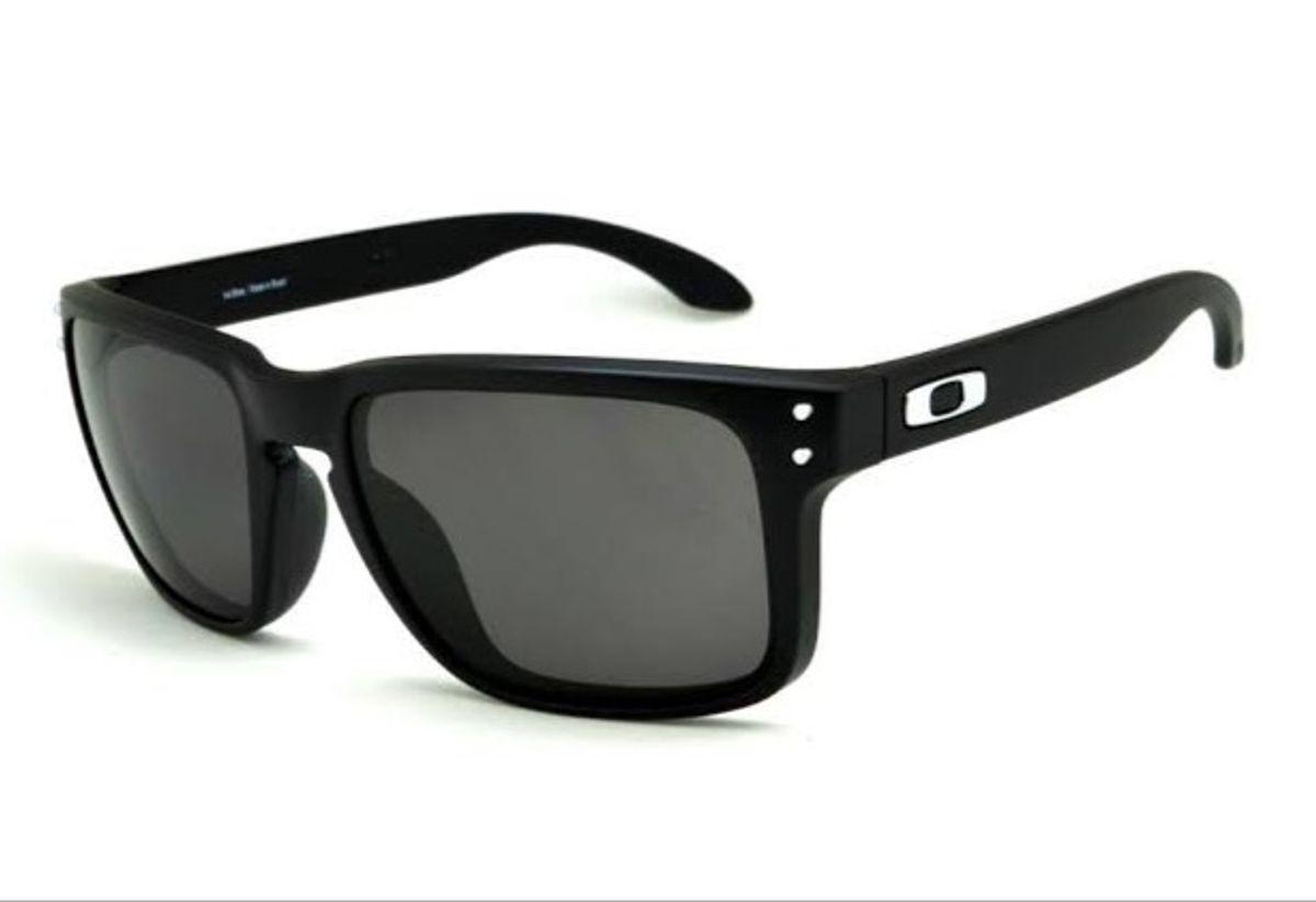 e23e9d2d1b óculos de sol oakley holbrook polarizado preto masculino - óculos oakley
