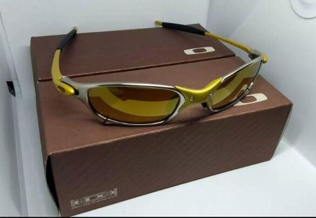 Óculos de Sol Oakley Juliet 24k Xmetal Novo Na Caixa   Óculos Masculino  Oakley Nunca Usado 29874090   enjoei 7f93d2ff12