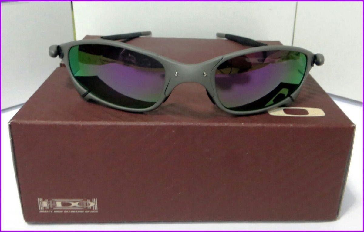 óculos de sol oakley juliet xmetal lente roxa novo na caixa - óculos oakley 7d2895cbde