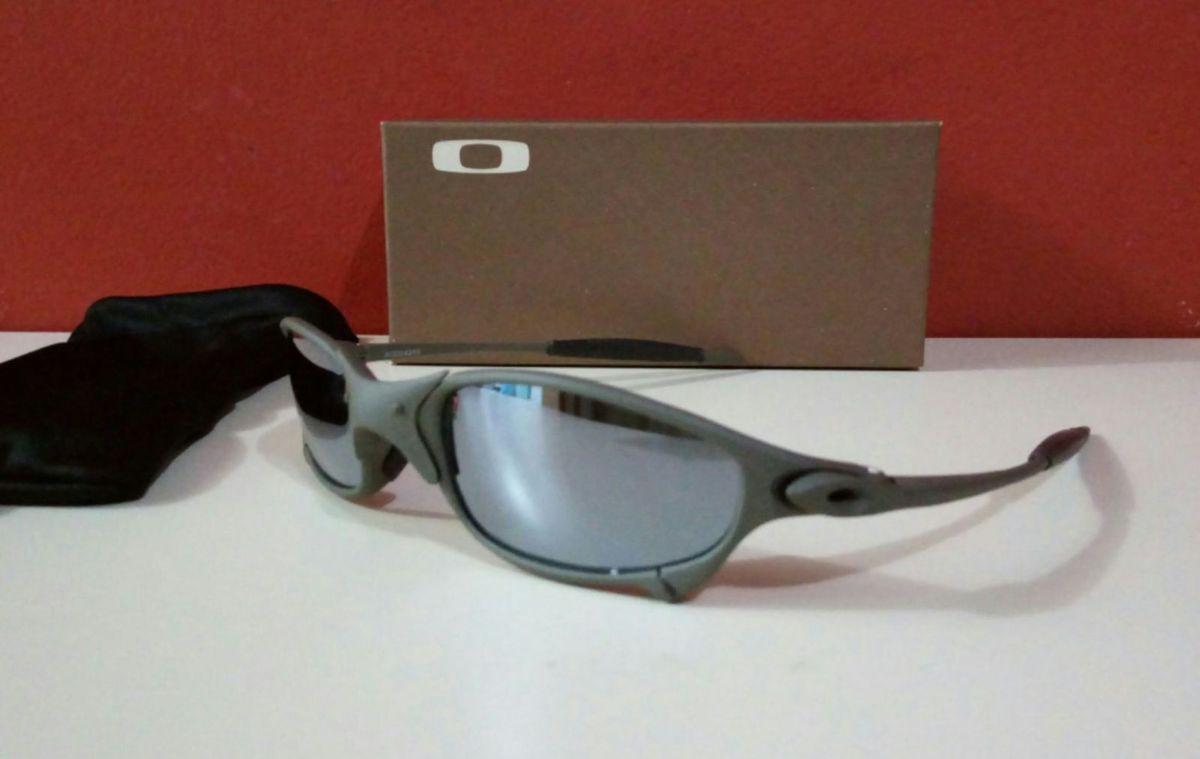 b16aa9c54 óculos de sol oakley juliet xmetal lente espelhada unissex novo na caixa -  óculos ray-