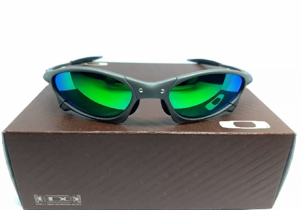 a810f59aa óculos de sol oakley penny xmetal verde polarizado novo na caixa - óculos  oakley