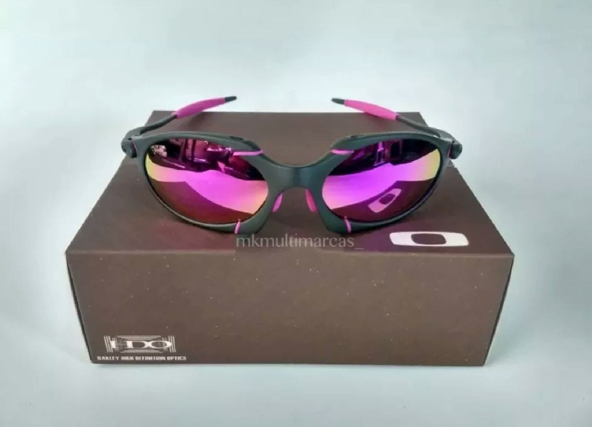 01e0dc537 Óculos de Sol Oakley Romeo 1 Xmetal Novo Na Caixa | Óculos Masculino ...
