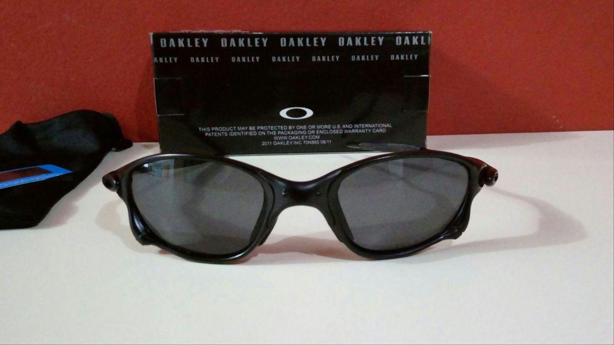 5f9548652 óculos de sol oakley double-x todo preto xmetal novo na caixa - óculos  oakley