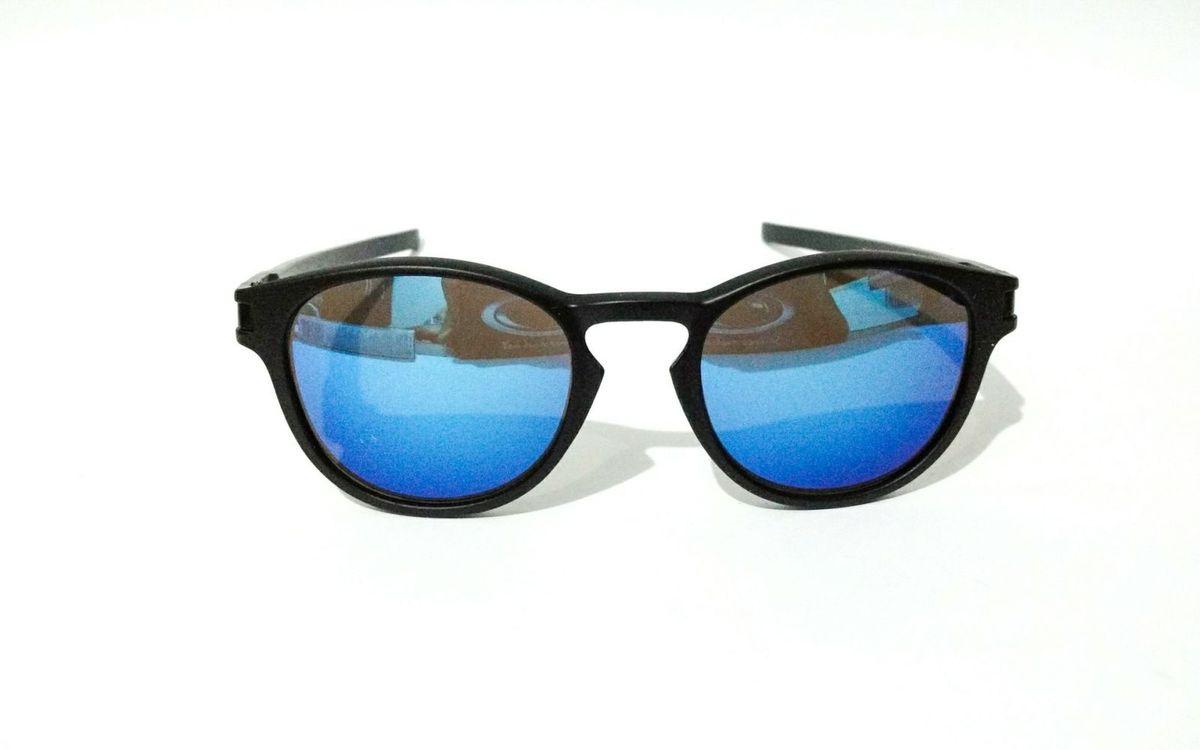 1e97b23afd96a óculos de sol oakley round latch squared masculino espelhado - óculos  sem-marca