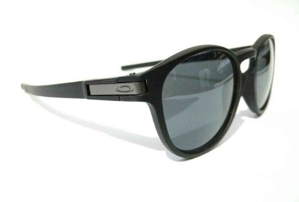 e0a94fa6024fb Óculos de Sol Oakley Round Preto Fosco Latch Squared   Óculos Masculino  Oakley Nunca Usado 31018076   enjoei