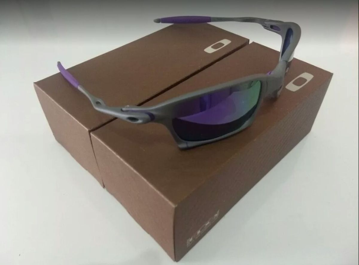 5cd93caf59dac Óculos de Sol Oakley Xsquared Xmetal Lente Preta Novo Na Caixa   Óculos  Masculino Oakley Nunca Usado 30721787   enjoei