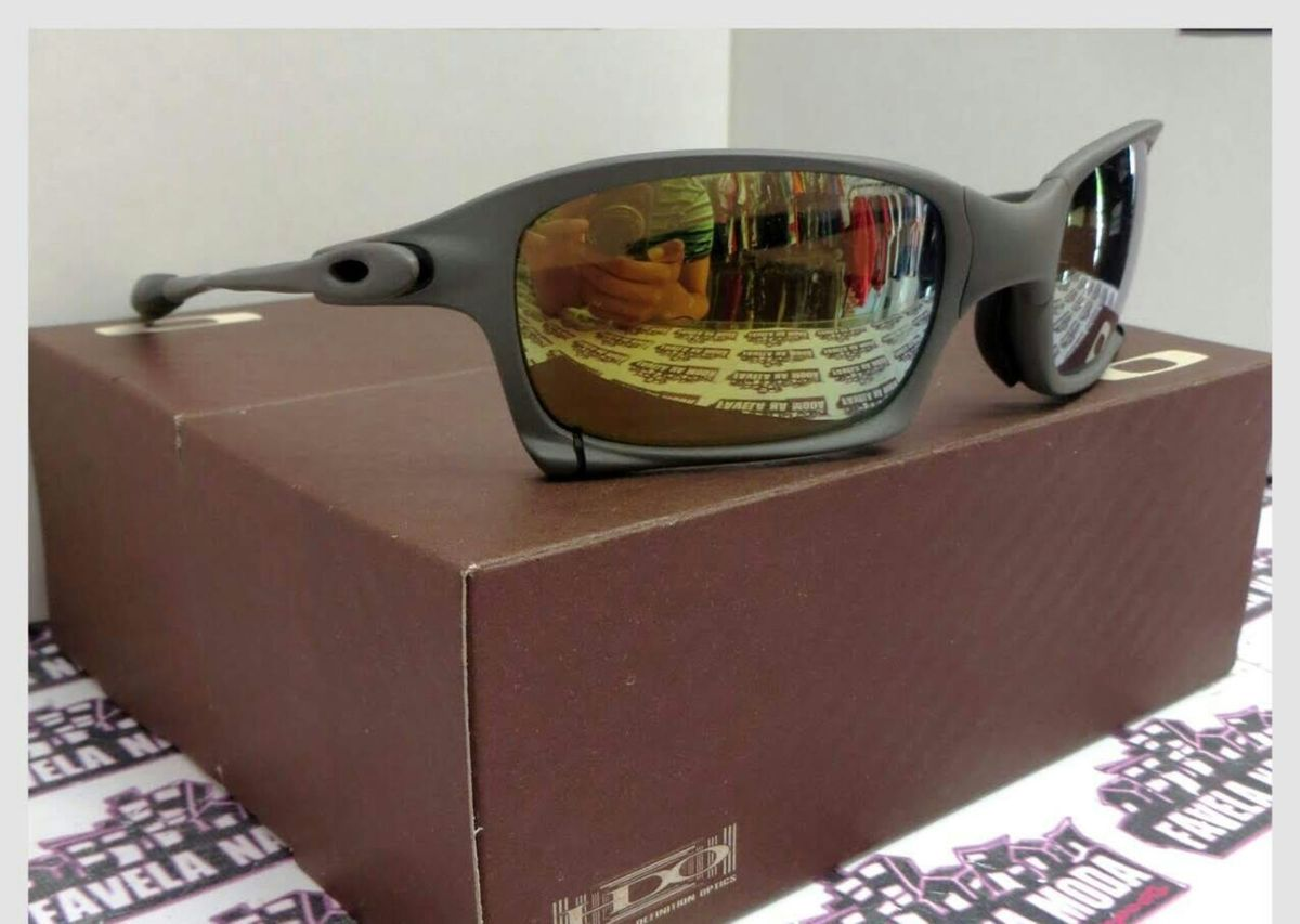c945114859d8b Óculos de Sol Oakley Xsquared Xmetal Lente Preta Novo Na Caixa   Óculos  Masculino Oakley Nunca Usado 30721699   enjoei