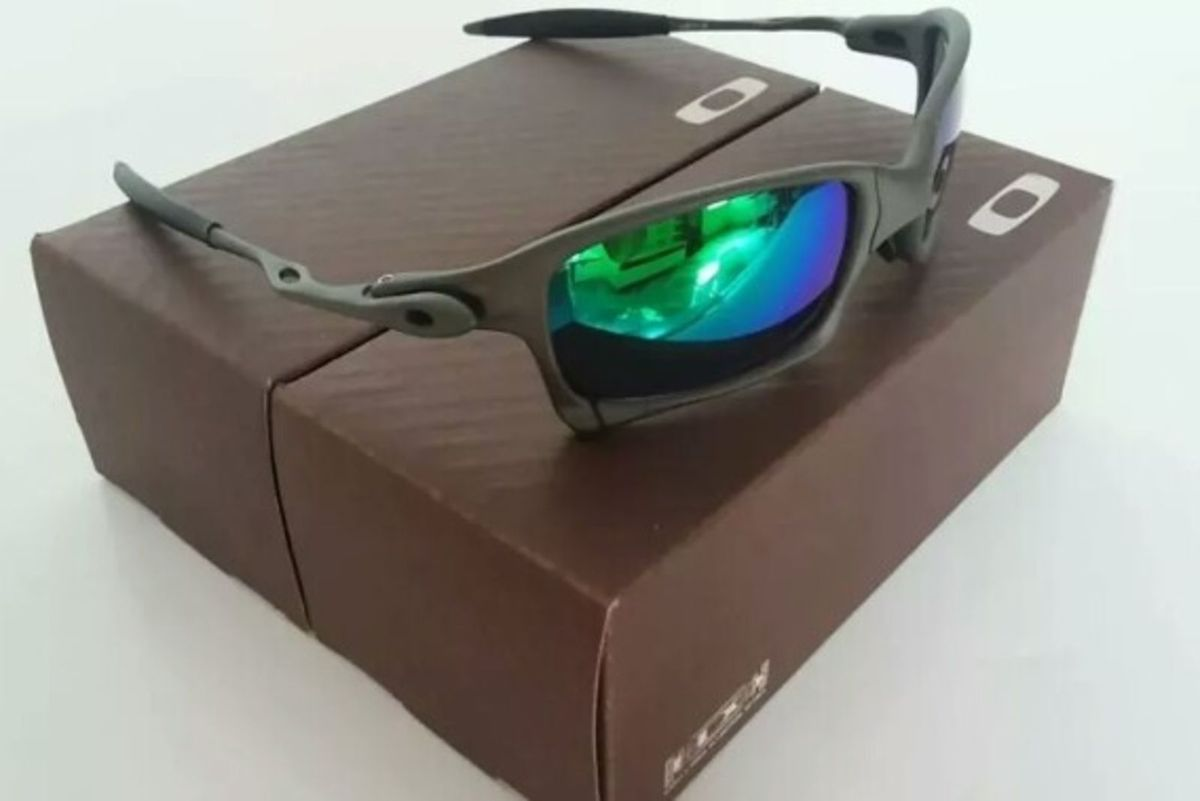 693d0b4febf24 Óculos de Sol Oakley Xsquared Xmetal Lente Preta Novo Na Caixa   Óculos  Masculino Oakley Nunca Usado 30766327   enjoei