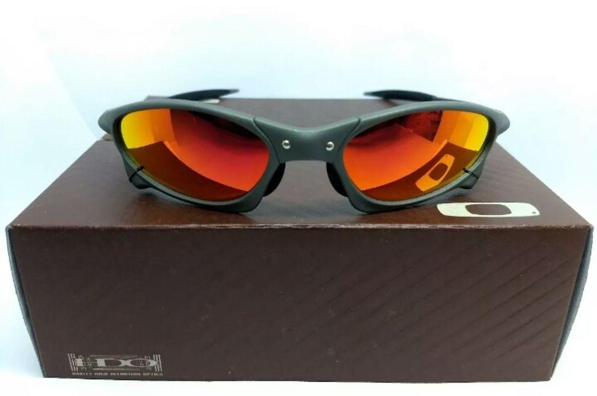 19c7ea8d60137 óculos de sol oakley penny ruby xmetal novo na caixa - óculos oakley