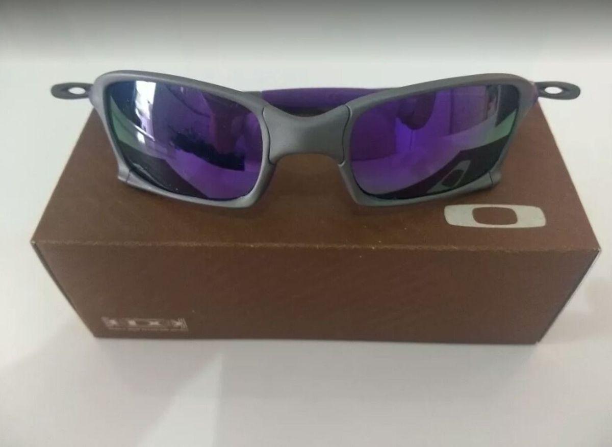 4fae5fcf0ba80 óculos de sol oakley xsquared xmetal lente roxa novo na caixa - óculos  oakley