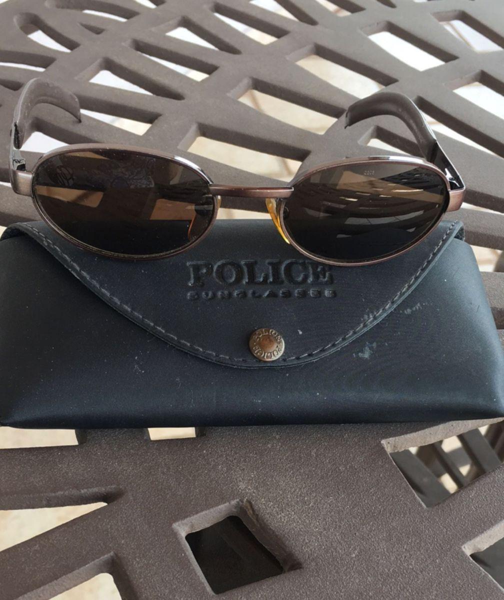 4984871f29db7 Óculos de Sol Police Marrom  Bronze Tam 51   Óculos Feminino Police ...