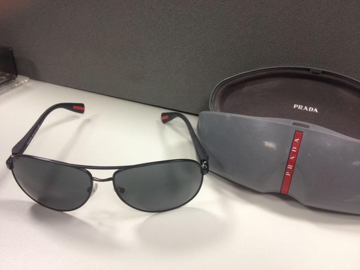 Óculos de Sol Prada (original) Made In Italy -com Nf.   Óculos ... 2f0b613137