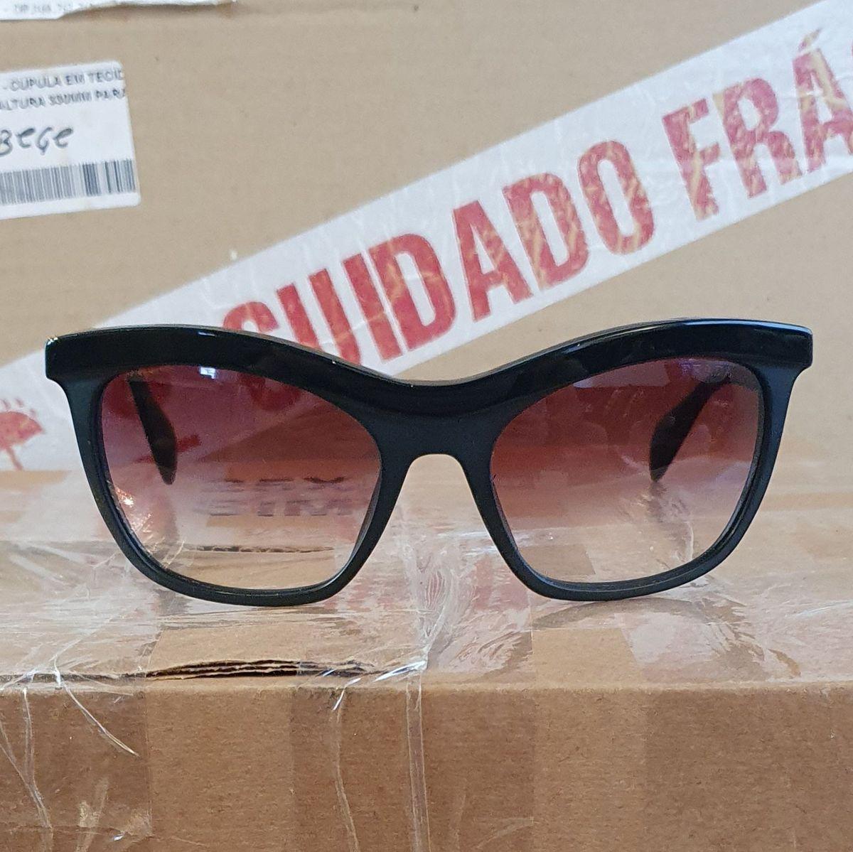 Óculos de Sol Prada Spr10p Original Semi Novo   Óculos Feminino ...