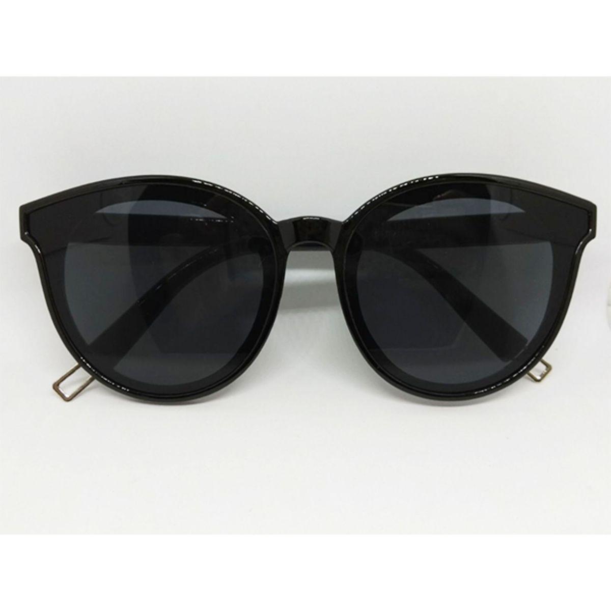 Óculos de Sol Preto Gatinho Blogueirinha   Óculos Feminino Lecoleto ... 9b6daabc81